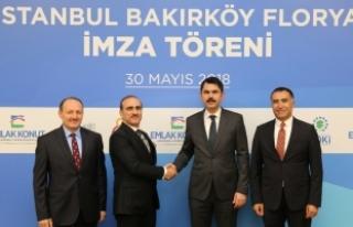 Galatasaray'ın Florya arazisinin de bulunduğu arsa...