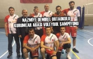 Nazmiye Demirel Ortaokulu Kurumlar Arası Voleybol...