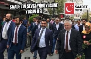 Saadet Partili Adaylar Vatandaşlarla Kucaklaştı