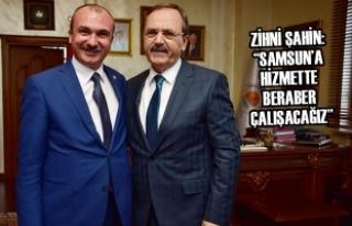 Vekil Kırcalı'dan Başkan Şahin'e Hayırlı...
