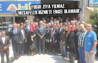 """Yusuf Ziya Yılmaz: """"Mesafeler Hizmete Engel Olamadı"""""""