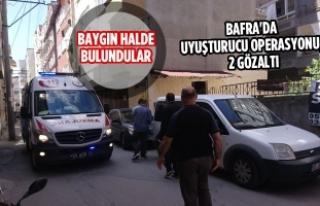 Bafra'da Uyuşturucu Operasyonu; 2 Gözaltı