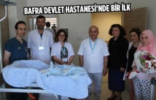 Bafra Devlet Hastanesi'nde Bir İlk