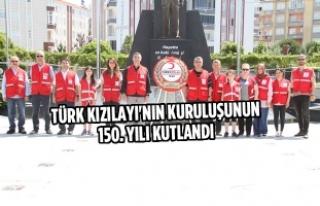 Bafra'da Türk Kızılayı'nın Kuruluşunun...