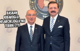 Başkan Kibaroğlu, Rıfat Hisarcıklıoğlu'nu...