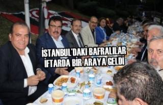 İstanbul'daki Bafralılar İftarda Bir Araya Geldi