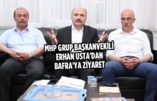 MHP Grup Başkanvekili Usta'dan Bafra'ya...