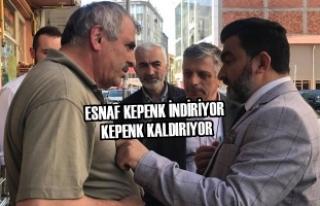Milletvekili Adayı Öcal, Bafra'da Esnafları Ziyaret...