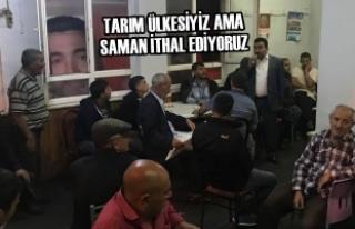 Mustafa Öcal; Dededağında Vatandaşlara Hitap Etti