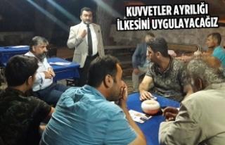 Öcal: Saadet İktidarında Ankara'da Hâkimler...
