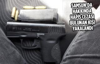 Samsun'da Hakkında Hapis Cezası Bulunan Kişi...