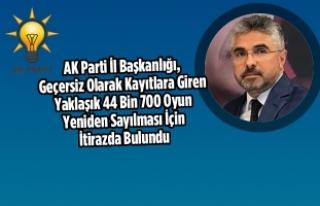 Samsun'da İtiraz Üzerine Oylar Yeniden Sayılıyor