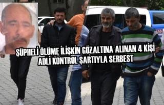 Samsun'daki Şüpheli Ölüm; 4 Gözaltı