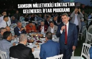 Samsun Milletvekili Köktaş'tan Geleneksel İftar...