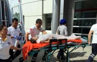 Samsun'da denize giren çocuk boğulma tehlikesi...