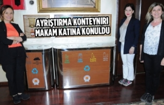Sıfır Atık Projesi'nde İlk Somut Adım Büyükşehir'den