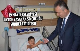 19 Mayıs Belediyesi İlçede Yaşayan 50 Çocuğu...