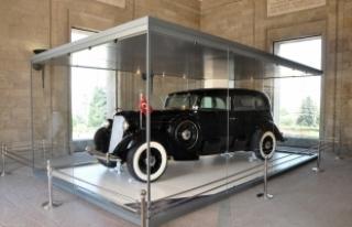 İş Bankası'ndan Atatürk'ün otomobillerinin korunmasına...