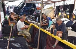 Karadenizli balıkçılar orkinos avından mutlu döndü