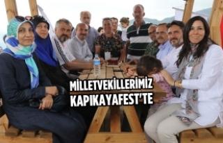 Milletvekillerimiz Kapıkayafest'te