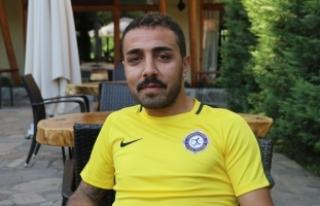 Osmanlısporlu oyuncu Caner Arıcı'nın gözaltına...