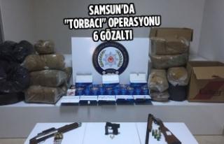 """Samsun'da """"Torbacı"""" Operasyonu: 6..."""