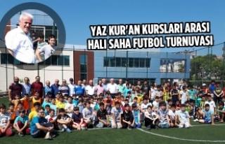 Yaz Kur'an Kursları Arası Halı Saha Futbol...