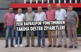1930 Bafraspor Takıma Destek Ziyaretleri Devam Ediyor