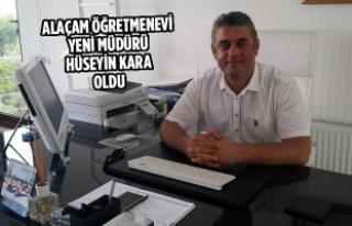 Alaçam Öğretmenevi Yeni Müdürü Hüseyin Kara...