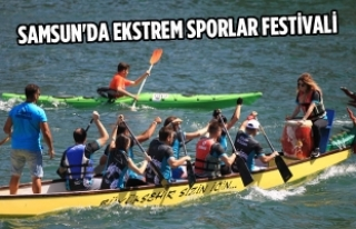 Vezirköprü'de Ekstrem Sporlar Festivali