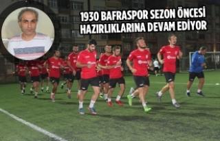 1930 Bafraspor Sezon Öncesi Hazırlıklarına Devam...