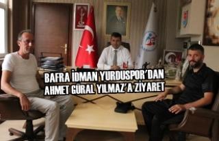 Bafra İdman Yurduspor'dan Ahmet Güral Yılmaz'a...