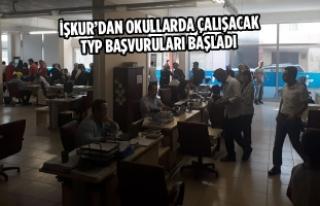 Bafra İşkur'dan Okullarda Çalışacak TYP Başvuruları...