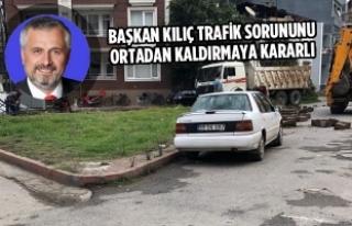 Başkan Kılıç Trafik Sorununu Ortadan Kaldırmaya...