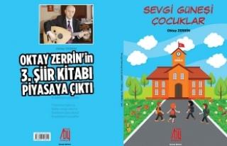 Oktay Zerrin'in 3. Şiir Kitabı Piyasaya Çıktı