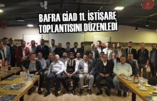 Bafra GİAD 11. İstişare Toplantısını Düzenledi