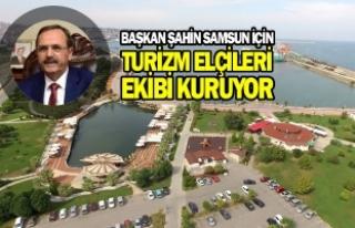 """Başkan Şahin: """"Hem Samsun Hem Ülkemiz Kazanacak"""""""