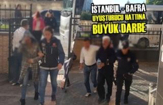 İstanbul - Bafra Uyuşturucu Hattına Büyük Darbe