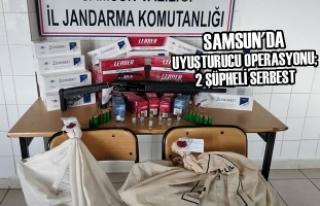Samsun'da Uyuşturucu Operasyonu; 2 Şüpheli...