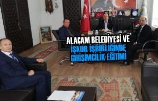 Alaçam Belediyesi ve İŞKUR İşbirliğinde Girişimcilik...