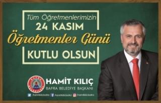 Başkan Kılıç'ın 24 Kasım Öğretmenler...