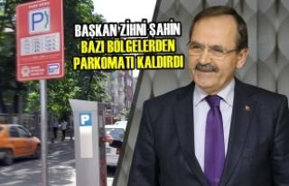 """Başkan Şahin: """"Parkomat Halkımıza Zarar Vermemeli"""""""