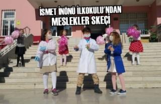 İsmet İnönü İlkokulu'ndan Meslekler Skeçi