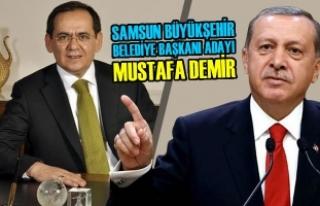 Samsun Büyükşehir Belediye Başkanı Adayı Mustafa...