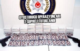 Samsun'da Uyuşturucu Operasyonları; 2 Şüpheli...