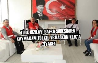 Türk Kızılayı Bafra Şubesinden Ziyaretler
