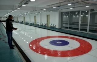 Türkiye'nin üçüncü curling salonu, Amasya'da...