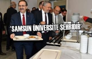 Zihni Şahin, OMÜ'de Öğrencilerle Buluştu,...