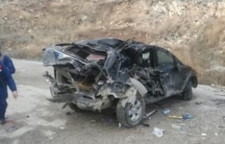 Akyurt'ta cip devrildi: 1 ölü, 2 yaralı