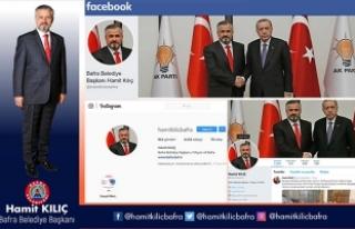 Başkan Kılıç'ın Sosyal Medya Hesaplarına...